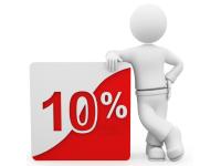 10 per cento 200